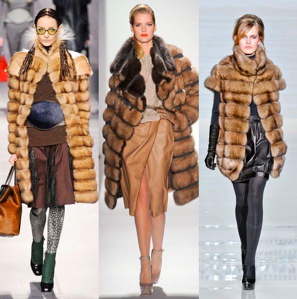 Модный мех осень-зима 2012/2013