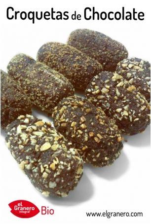 'Recetas Ecológicas': Croquetas de Chocolate http://www.ecoticias.com/alimentos/100249/recetas-ecologicas-croquetas-de-chocolate