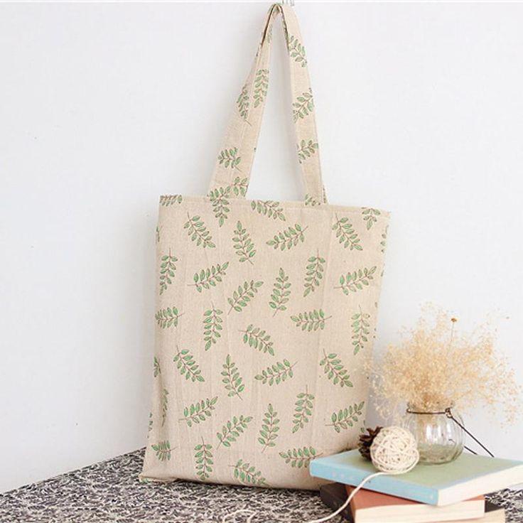$4.43// Leaf Canvas Bag// Delivery: 6-9 weeks