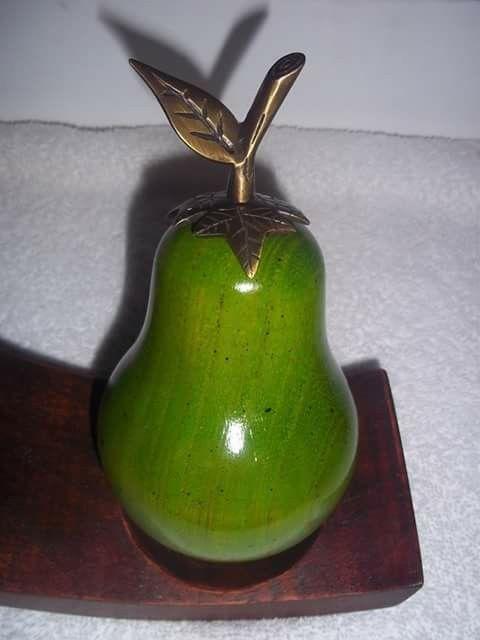 Frutas en madera - country