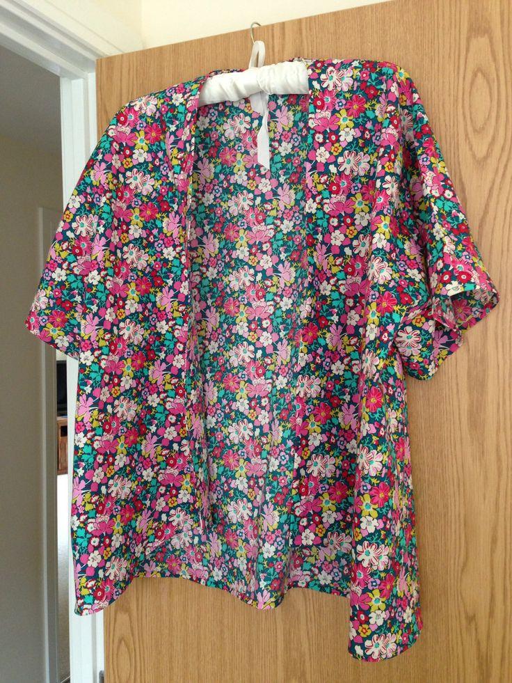 Kimono top in Liberty fabric from Ditto Brighton