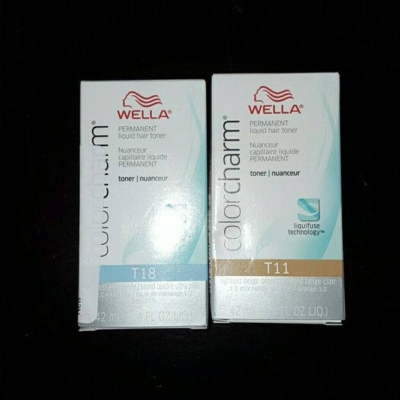 Wella Other - Wella T18 and T11 toners