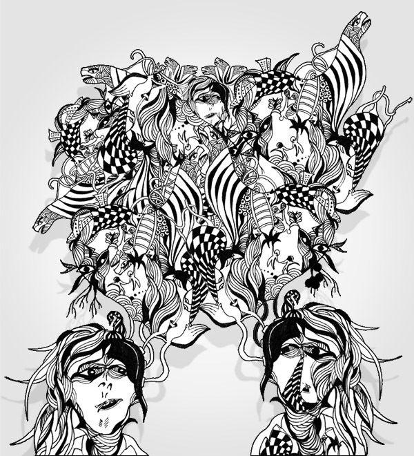 Illustration for LaCabeza on Behance