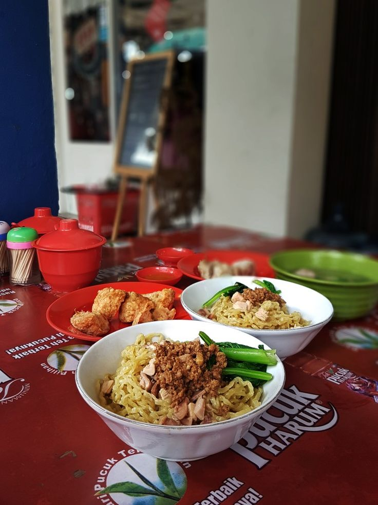 """""""Bakmi Ayam Babi"""", Bakmi Qiu Qiu, Jakarta"""