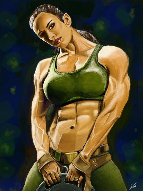 Fitness Model by sturoyce on DeviantArt