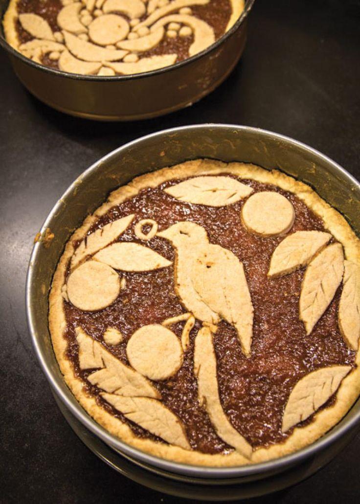 Crostata di Pesche Cotte e Amaretti (Amaretti Peach Tart)