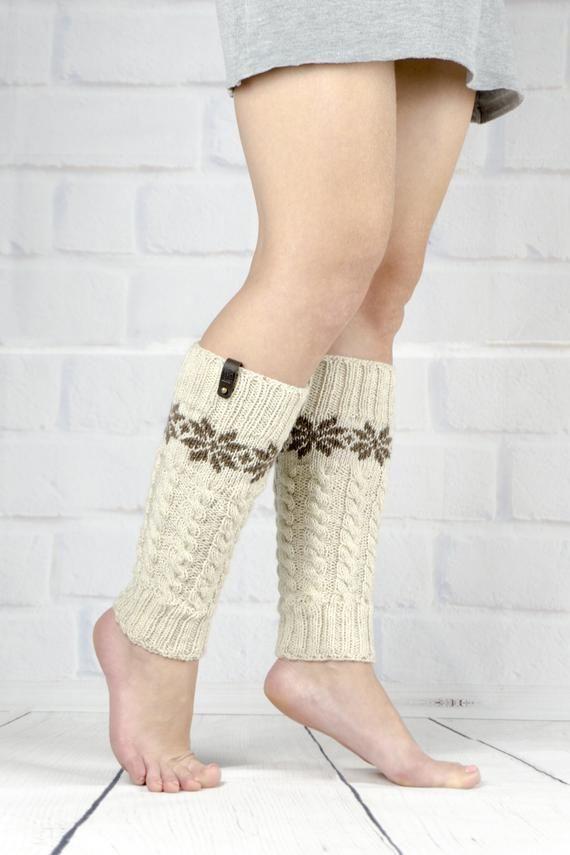 Goat Yoga Womens Knee High Socks Winter Warm Boot Socks Tube Stockings