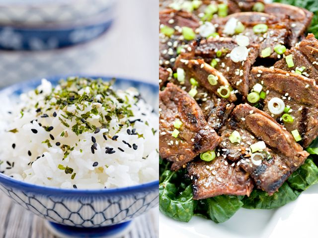 Galbi (Korean BBQ Beef Short Ribs) - going to try with seitan ribs