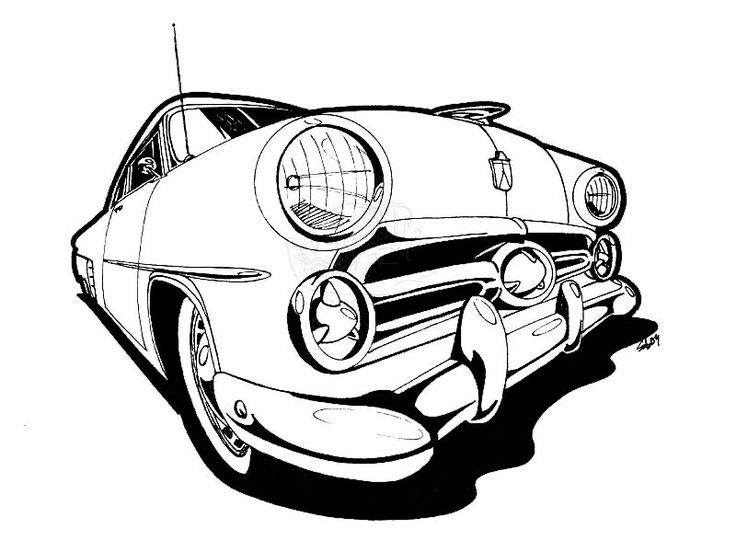 best 50  coloring hot rod images on pinterest