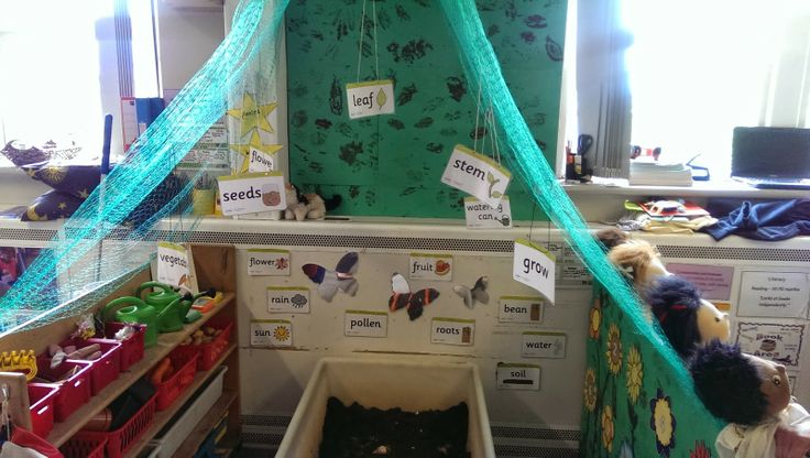 New growing area in our Nursery