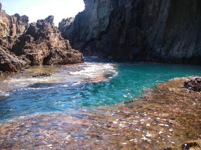 Kayak to this secret cove on far side of Mokulua Island off of Lanikai Beach on Oahu. Paradise.