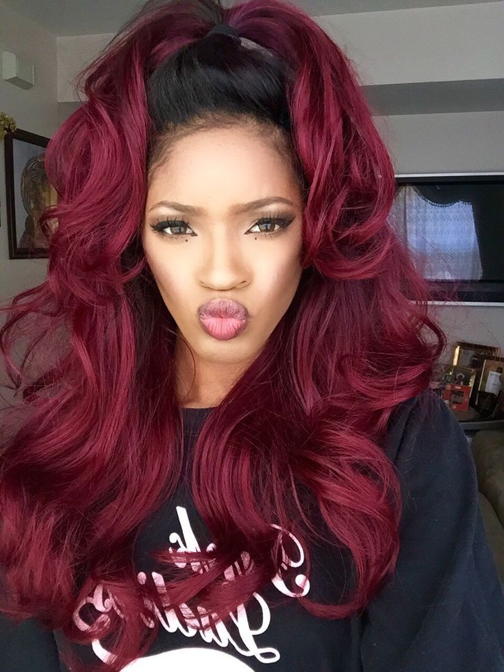 Ombre Hairstyles for Black Women (43)