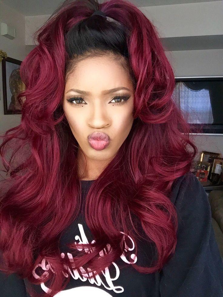 hair & beauty glossary burgundy