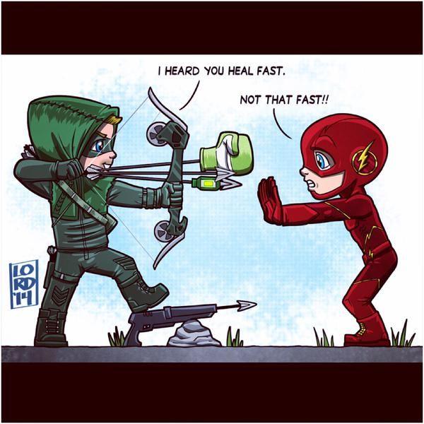 Supergirl, Flash, The Flash