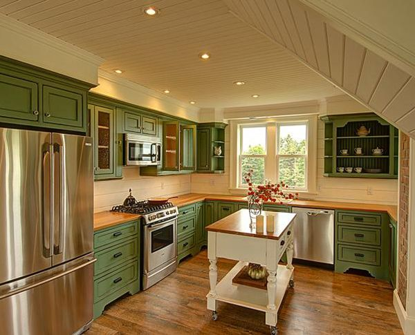 Cabico Cabinets Beaded Inset Doors 365 B Emerald On Maple Custom Cabinets Pinterest To