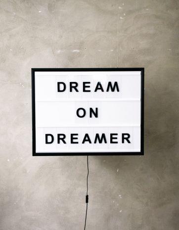 BxxLght Dream On Dreamer | Artilleriet | Inredning Göteborg - backlight text box