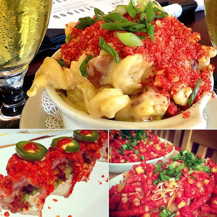 Ever considered topping your mac & cheese with crumbled Hot Cheetos? Check out the other 35 unexpected ways to enjoy this spicy snack.