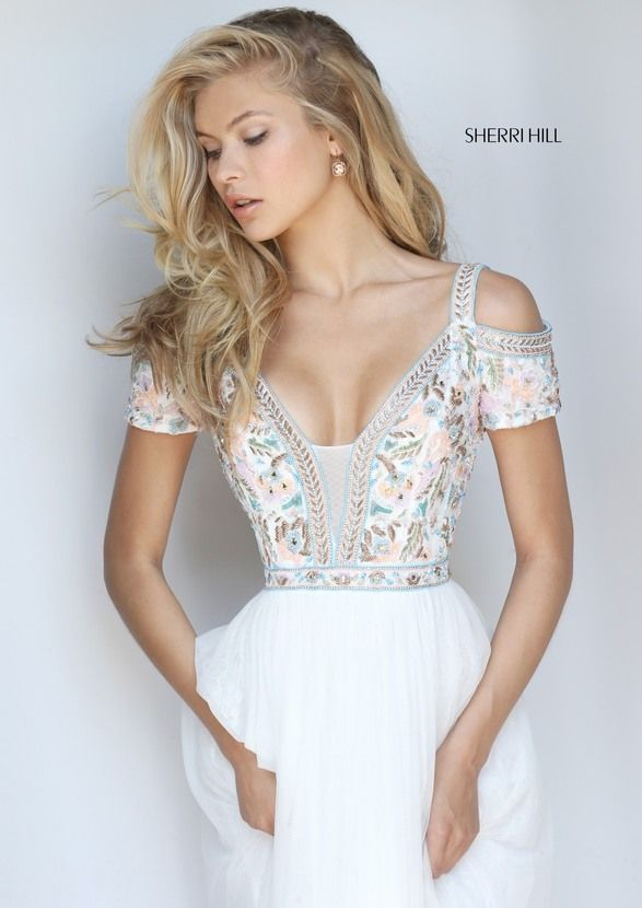 443 best Sherri Hill images on Pinterest | Abschlussball kleid ...