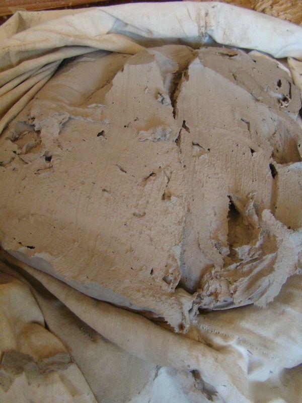 Préparation de la terre papier