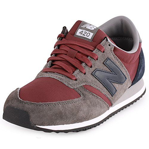 new balance womens burgundy trainers