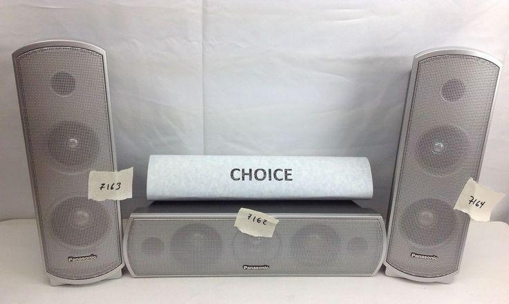 Panasonic Home Theater Stereo Receiver Center Surround Replacment Speaker CHOICE #Panasonic
