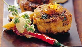 Gewürze: Schuhbeck-Gericht Frikadelle mit Aprikosensenf