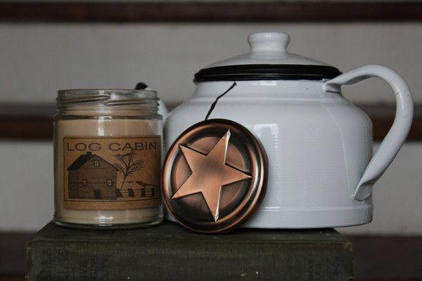 Log Cabin 8oz Soy Blend Candle
