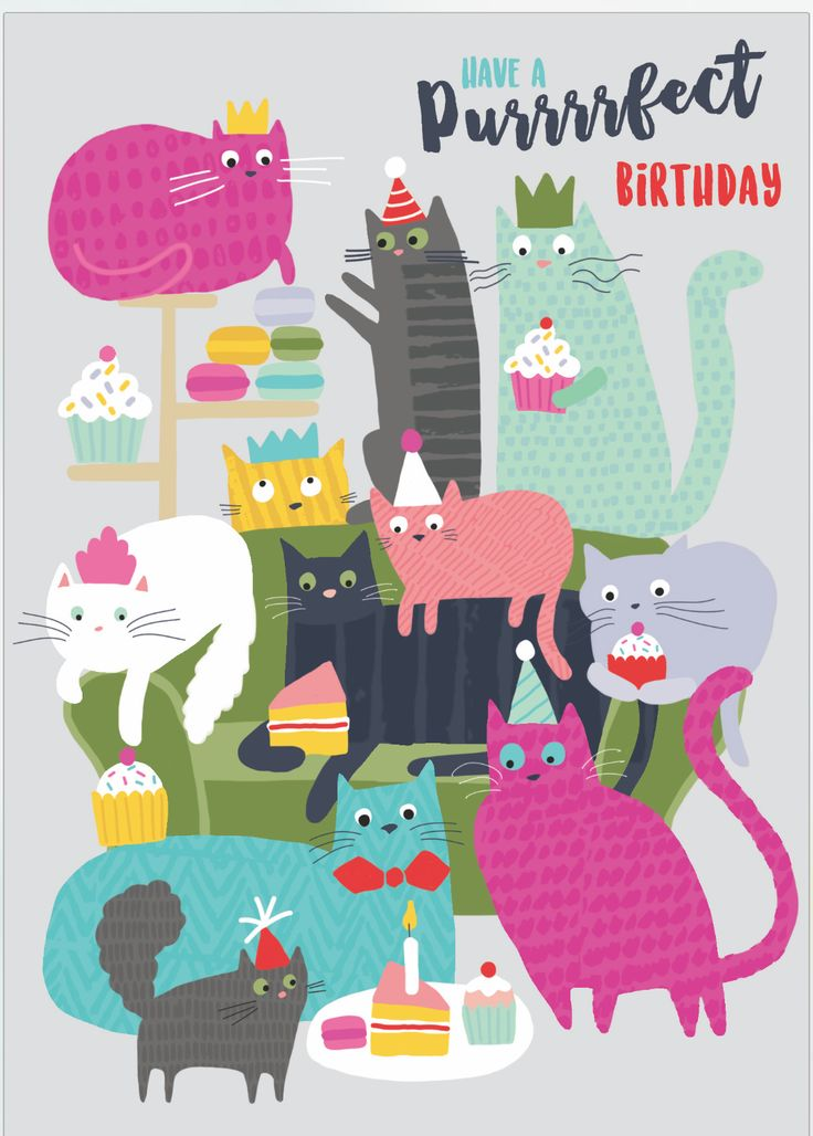 Have a purrrrfect birthday! (by Charlotte Pepper)