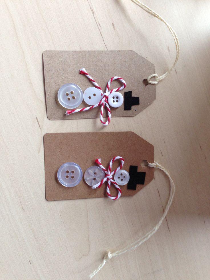 My Christmas tags