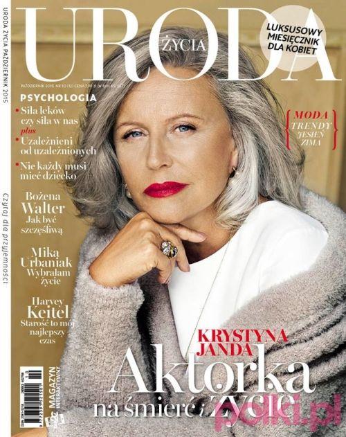 """Październikowa """"Uroda Życia"""" z Krystyną Jandą #polkipl"""