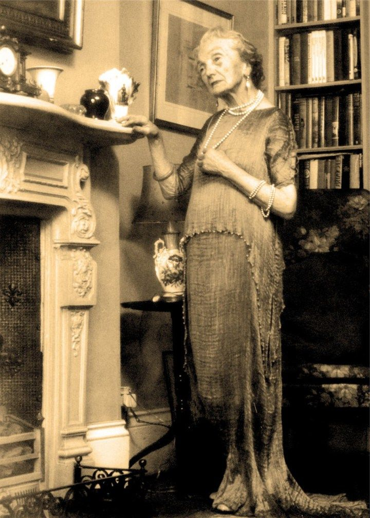 EVERY WOMAN SHOULD BE ISSUED A FORTUNY GOWN ALONG WITH HER MEDICARE CARD