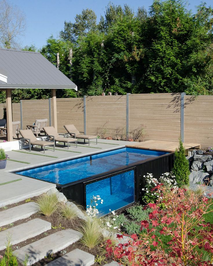Best 25+ Shipping Container Pool Ideas On Pinterest
