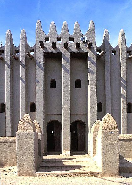 Komoguel Mosque, Mopti Mali