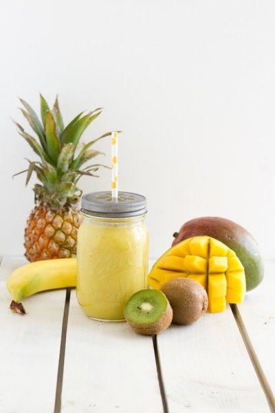 haseimglueck.de Rezept, Smoothie Kiwi Ananas Mango 5