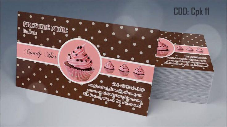http://cartidevizitaieftine.com/ va prezinta modele carti de vizita candy bar, cupcackes, cofetarie, confiserie. La noi in tipografia din Bucuresti le printam digital sau offset la calitate ireprosabila si cu finisari de exceptie, fiind atenti pana la cel mai mic detaliu.