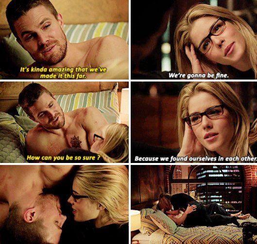 Arrow - Oliver & Felicity #4.6 #Olicity <3
