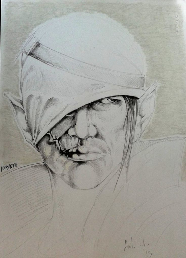 Drawing Pencil Iorveth The Witcher 2