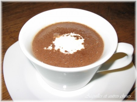 Chocolate Chaud~it's just SO much better than anything we have here in ...