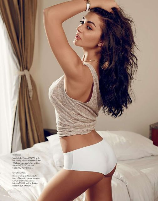 Amy Jackson – Hot and Sexy Photoshoot for Maxim India Magazine (March 2015).
