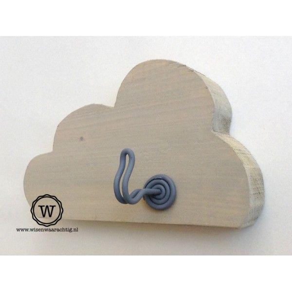 Kapstok wolk kinderkamer| Bijzonder ontwerp