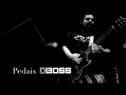 Pedaleira de Guitarra. Primeiros pedais Demonstração prática | Andre Curci