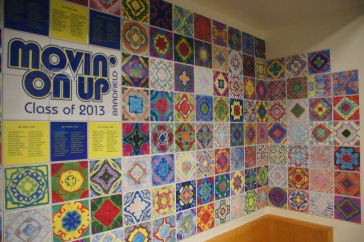 43 Best Images About Tile Walls In Schools By Artware On