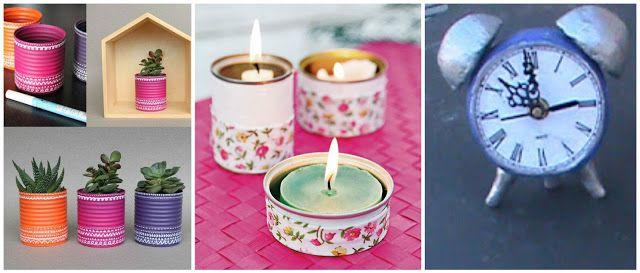 Ideas para reciclar y decorar latas que tenemos en casa ~ cositasconmesh
