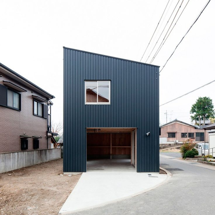 Architecture:Minimalist Stunning Gallery Of Box Shaped House Design Danchi Hutch Houses Home Architectural Building Construction Plan By Yos...