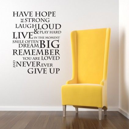 Best Wall Stickers Images On Pinterest Bedroom Wall Quotes - How do you put up wall art stickers