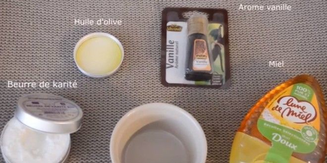 Un baume à lèvres hydratant à la vanille fait maison ! diy tuto beauté