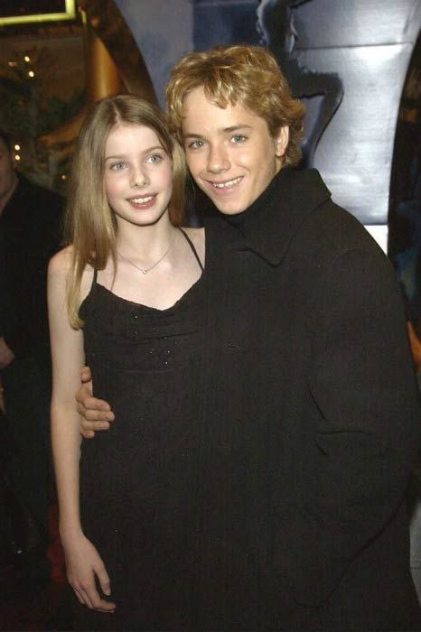 Rachel Hurd-Wood and Jeremy Sumpter at a private party...