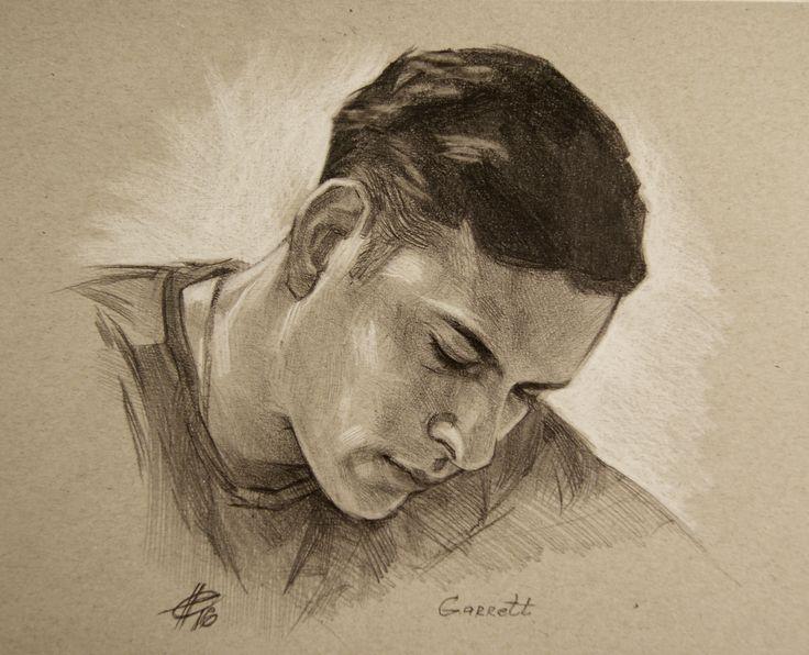 Гарретт. Рисунок карандашом. #drawing #pencildrawing #pencil #art #sketch #portrait