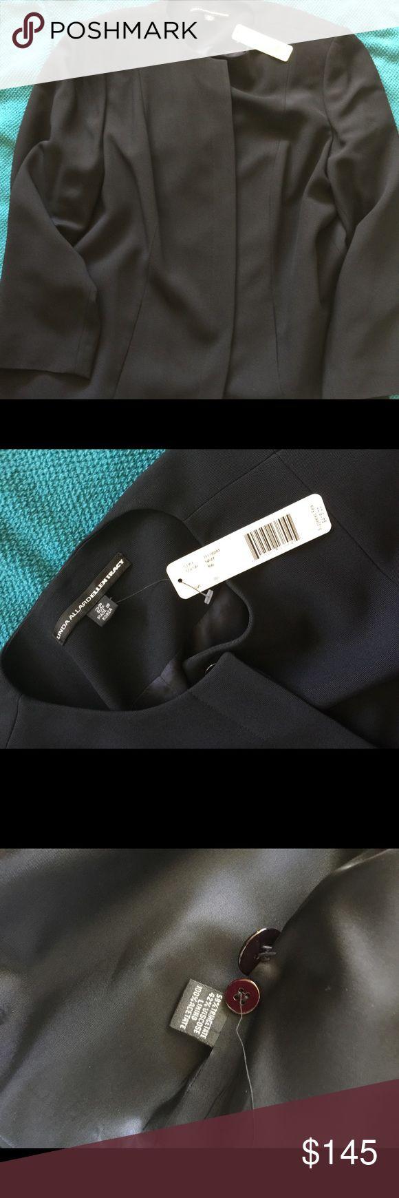 NWT Navy blazer size 22 Gorgeous well made blazer for work dressy jacket  Size 22  $415 Jackets & Coats Blazers