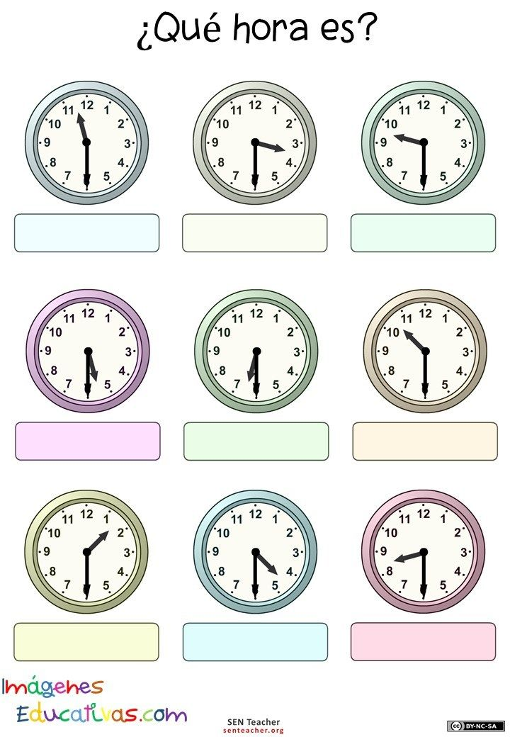 Ms de 25 ideas increbles sobre Reloj de matemticas en Pinterest